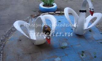 Лебеді з шин