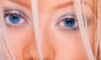 Макіяж для блакитних очей