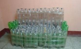 Меблі з пластикових пляшок своїми руками - фото, відео майстер-клас