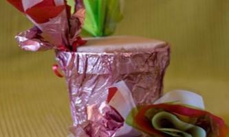 Оригінальний букет з цукерок своїми руками