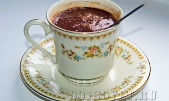 Напої з шоколаду - смачно і корисно