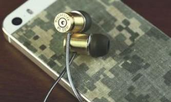 Навушники-кулі своїми руками