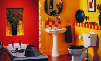 Незвичайні ідея для ванної кімнати