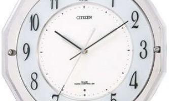 Незвичайні настінні годинники з псевдо підсвічуванням.