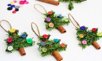 Незвичайні новорічні вироби для дитячого саду своїми руками