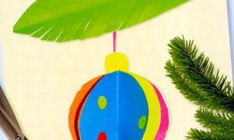 Нескладні новорічні вироби для дітей