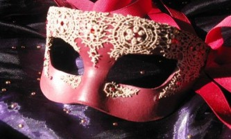 Новорічні маски своїми руками