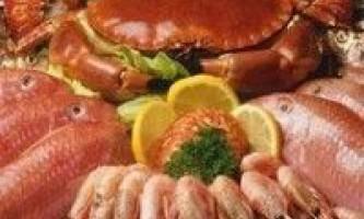 Про користь риби і морепродуктів