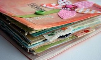 Обробка паперу своїми руками для скрапбукінгу: 5 ідей
