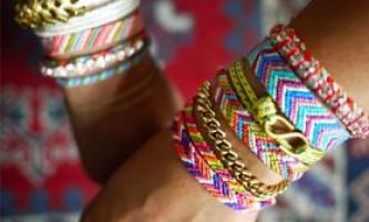 Оригінальні браслети: схеми плетіння фенечек з іменами