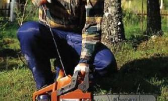 Основні правила роботи з бензопилою
