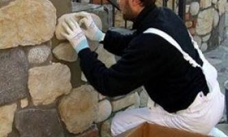 Обробка декоративним каменем своїми руками
