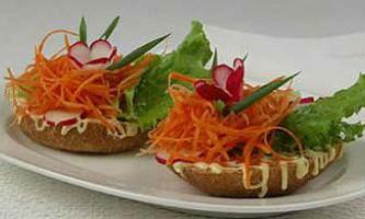 Овочеві бутерброди