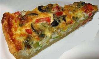 Пиріг з овочами