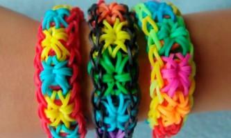 Плетемо браслети з гумок на верстаті