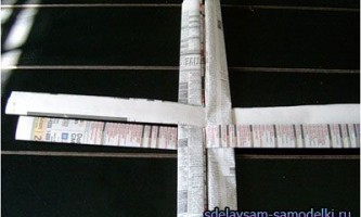 Плетіння кошиків з паперу
