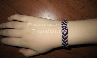 Плетений браслет (фенечка)