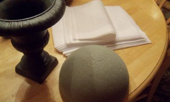 Подарунок на новий рік своїми руками: топиарий з ватних дисків покроково з фото