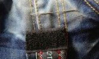 Подарунок своїми руками: стильна сумка зі старих джинсів, майстер-клас з фото