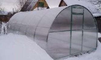 Підготовка теплиці до зими.