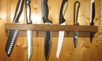 Підставка для ножів зі старої вогонкой