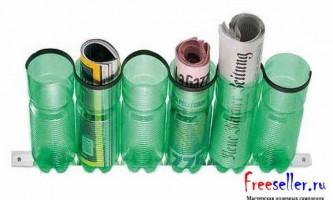Підставки з пластикових пляшок