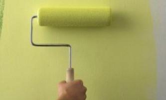 Фарбування стін. Поради та рекомендації з фарбування стін