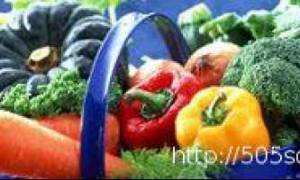 Корисні властивості продуктів