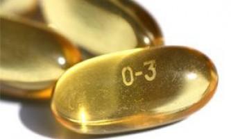 Корисні властивості вітаміну омега-3
