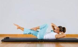 Корисні вправи для зміцнення ніг і живота