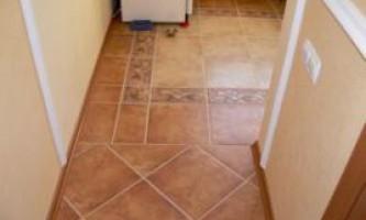 Підлоги з плитки. Як правильно вибрати плитку для підлоги. Укладання плитки на підлогу