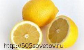 Користь лимонного соку