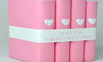Святкове оформлення книг до дня св. Валентина
