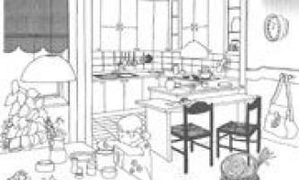 Продумуємо планування і інтер`єр для кухні