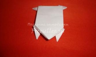 Стрибає жаба з паперу