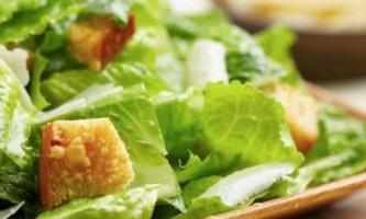 Розповім як готувати салат цезар