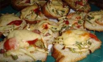 Рецепти бутербродів на швидку руку