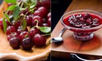 Рецепти з вишні