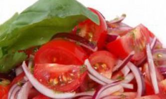Рецепти салатів з помідорів