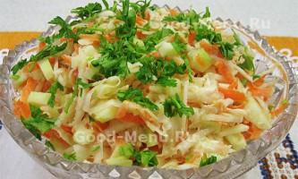Салат з кореня селери і яблук