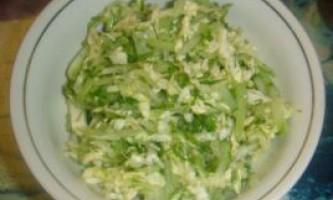 Салати з огірків. Рецепти салатів з огірків