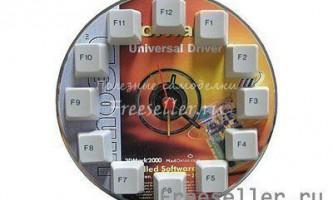 Саморобні годинник з компакт диска і клавіатури