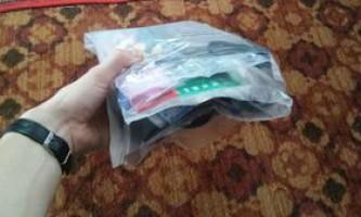 Саморобні кишеньки з плівки для речового мішка