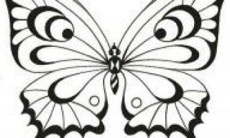 Шаблони метелики
