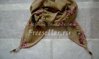 Шовковий шарф з бабусиної скрині