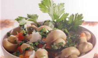 Швидкісна засолювання грибів