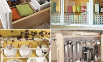 Поради зі зберігання посуду в кухні