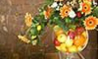 Зрізані квіти в інтер`єрі