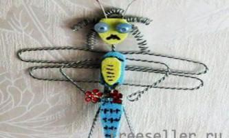 Бабка з дроту