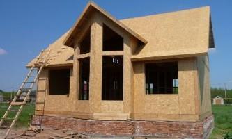 Будівництво дачних будинків з сіп панелей